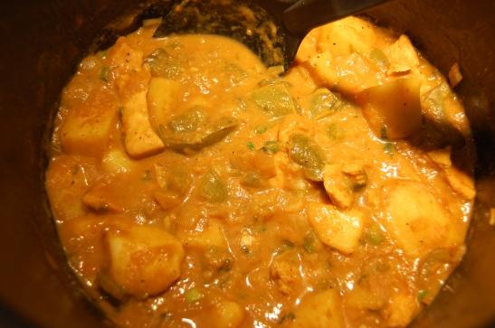 - IMPROV Chicken curry